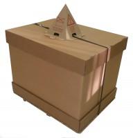 Ensemble Carton Fond/Couvercle/Coiffe