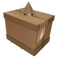 Ensemble carton - Fond/Ceinture/Coiffe