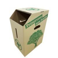 Poubelle Carton