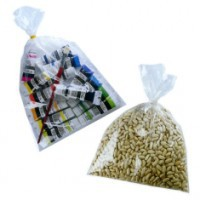 Sachets alimentaires PEBD qualité 50µ