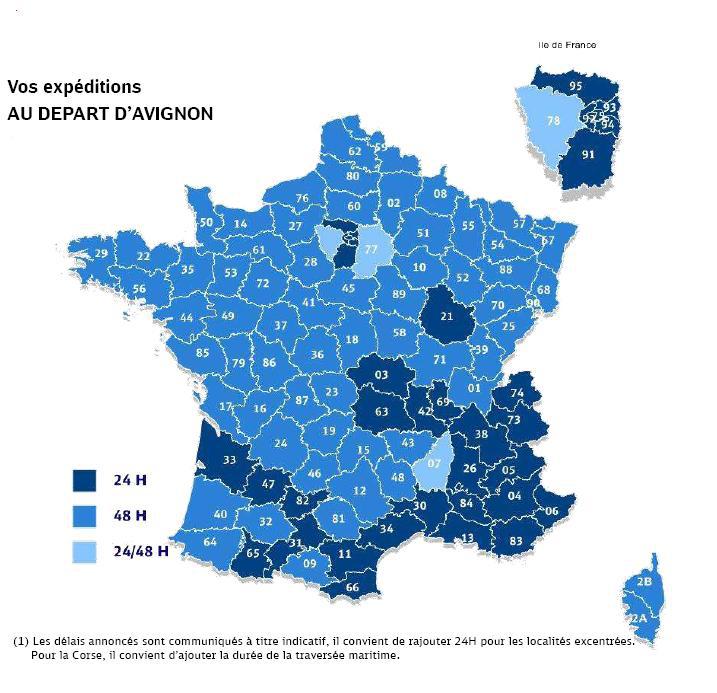 Délai de livraison France